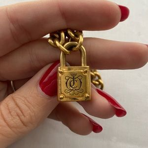 Juicy Couture Jewelry - Juicy Couture Gold Locket Choker